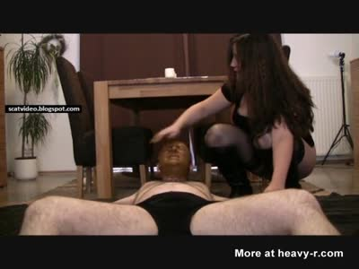 Scat Facial For Slave