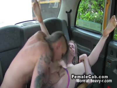 Female Driver Fingers Blonde Student