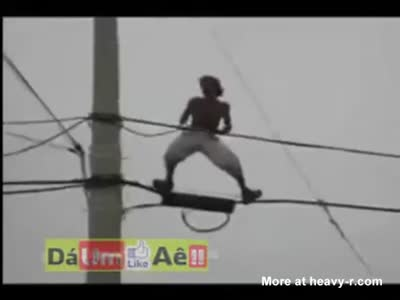 Playing With Power Lines