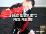 Young Rubber Boy Fecal Paradise