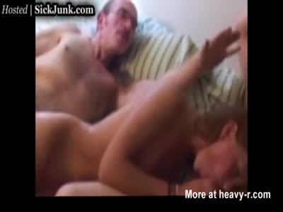 Creepy Old Guy Fucks Two Teens
