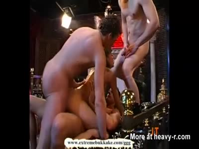 Ultimate Bukkake Slut