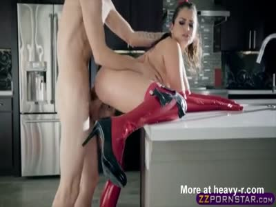 Latex MILF Ass Fucking