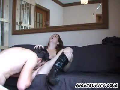 Teen Gets Pussy Eaten