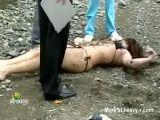 Dead bikini girl