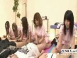 Japanese Synchronized Medical Handjobs