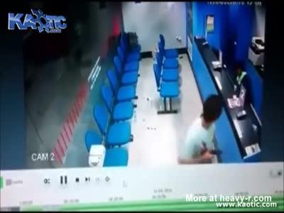 Robbers Shot