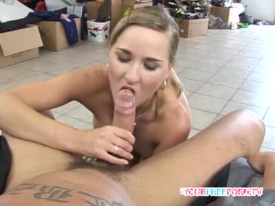 Neighbor Giving Blowjob