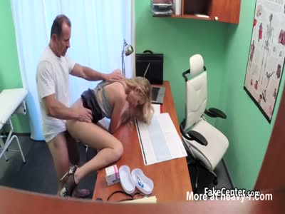 Doctor Fucks Blond In Office