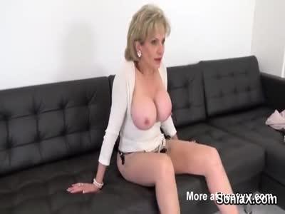 Huge Boobed Kinky Granny Teasing