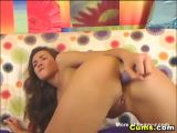 Dildo Penetration Made her Wet and Horny