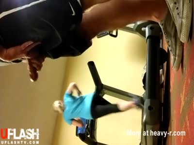 Jerking Off In The Gym