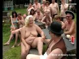 Fat Granny Outdoor Sex Party
