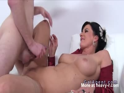 Busty Mature Fucking Young Stud