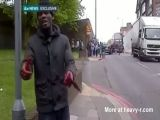 London Killer Talking To Camera