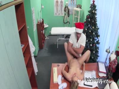 Doctor As Santa Fucks Patient
