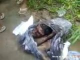 Dead Man Found In Garbage Bag