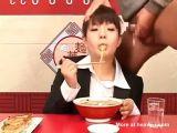 Food bukkake
