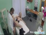 Fake Doctor Fucks His Blonde Patient