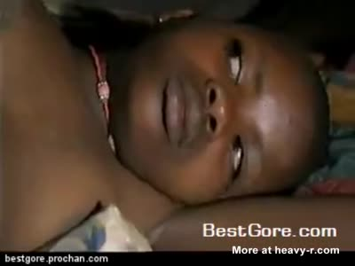 Breast ironing of young teenager in Cameroon