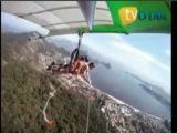 Paragliding crash