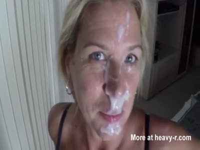 Big Cumshot On Wife's Face