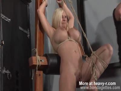 Melanie Moons Hogtied Bondage