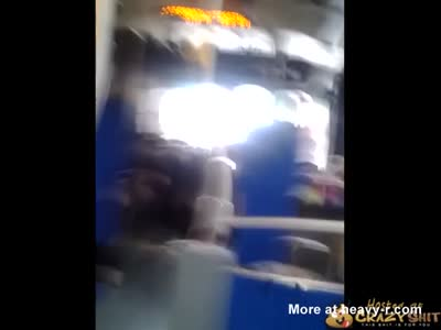 Fat Bitches Fighting On Bus