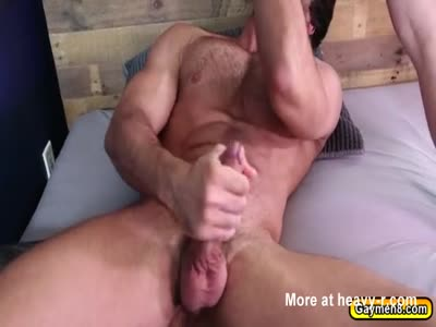Diegos anal fuck by Scotty breeding in