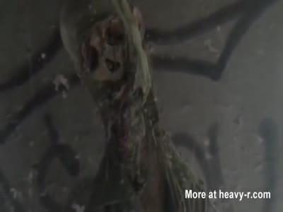 Mummified Corpse Hanging