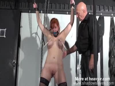 Swedish Submissive Tied And Pussy Tortured