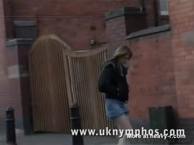 English Girl Fucks Two Homless Bums