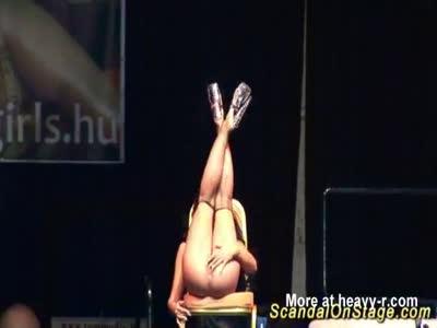 Flexible Busty Stripper