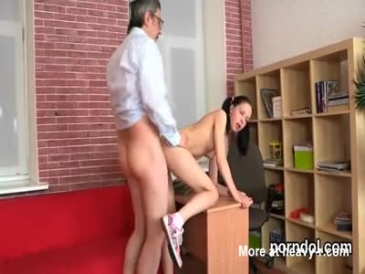 Innocent schoolgirl was seduced and pounded by her senior te