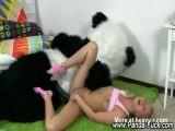 Teen Girl Fucked By Panda