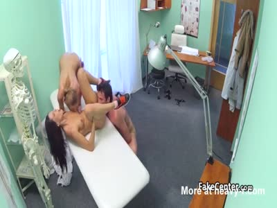 Nurse In Threesome With Patients