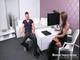 Hot Agent Fucked By Interviewee