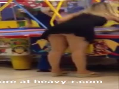 Air Hockey Upskirt