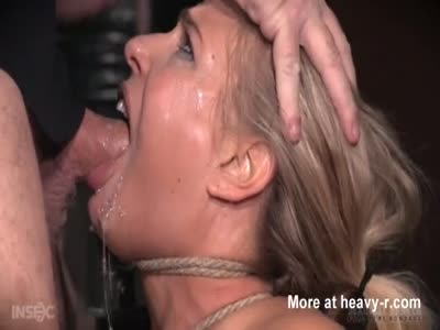 Blonde Babe Sexually Broken