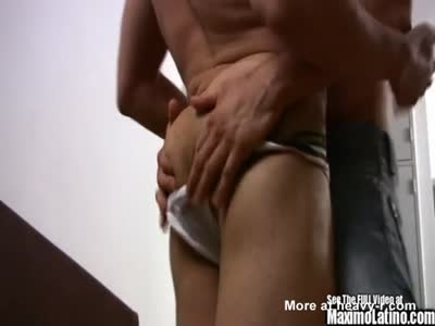 Butt Squeezing Cock Sucking Latin Anal