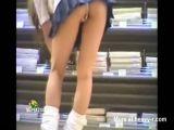 Upskirt at the mall