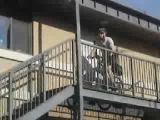 Bicycle cop fail