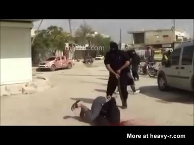 2 MEN CRUELLY BEHEADED