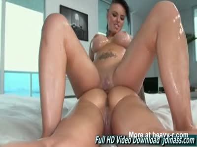 Oiled Lesbian Massage