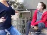 beating shy girl