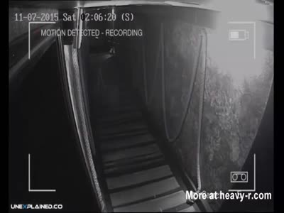 Ghost Caught on Tape by CCTV