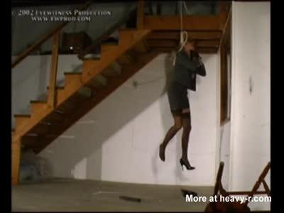hanging women