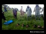 Taliban Barbarians Show Heads Of Pakistani Soldiers