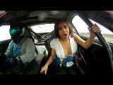 Toyota Supra Ride Makes Girls Shirt Pop Open