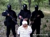 Mexican drugdealer's last seconds